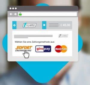 Rechnungen und Mahnungen zahlen wie im ONLINE-Shop