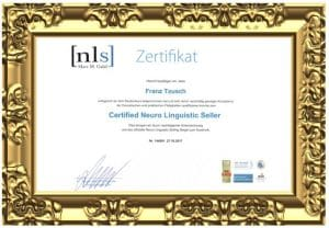 Certified Neuro Linguistic Seller